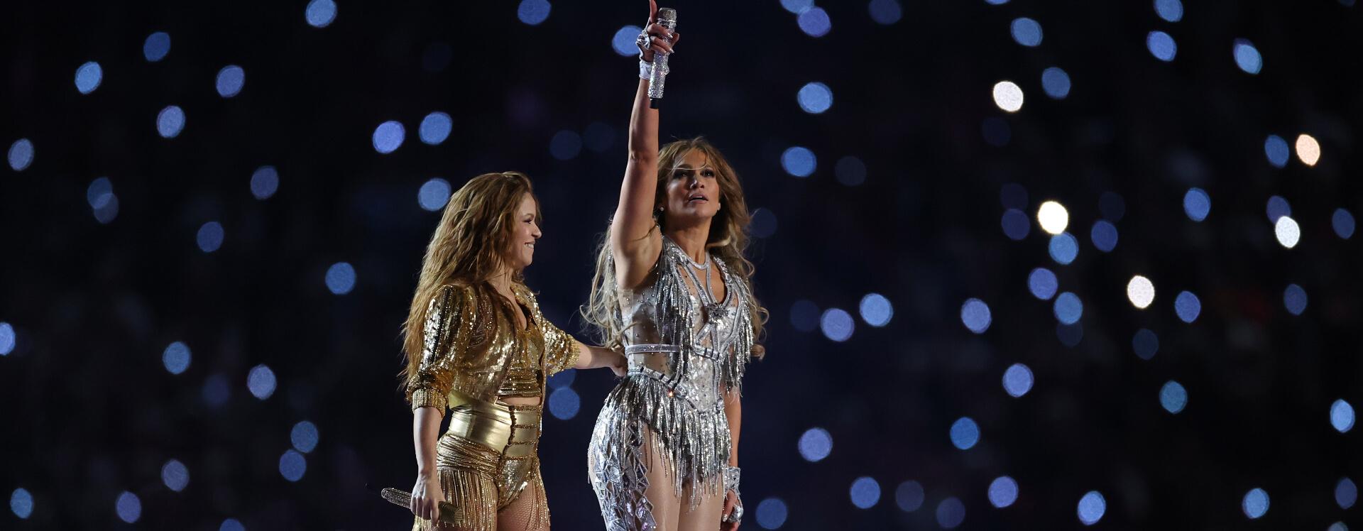 Super Bowl Halftime Jennifer Lopez And Shakira