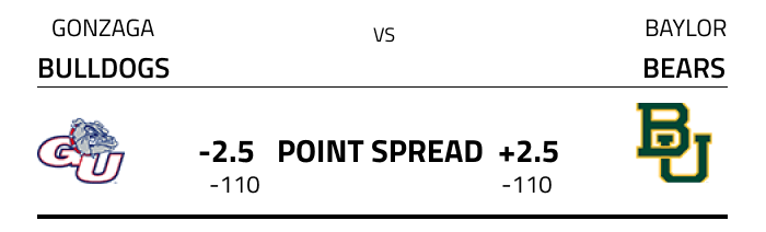 NCAA Point Spread Example