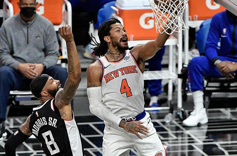Derrick Rose New York Knicks NBA