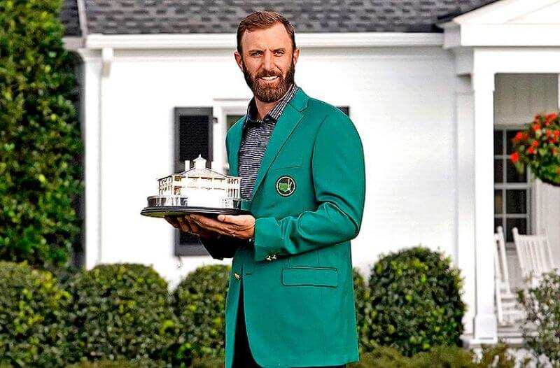 Masters Odds: Dustin Johnson Favored to Repeat