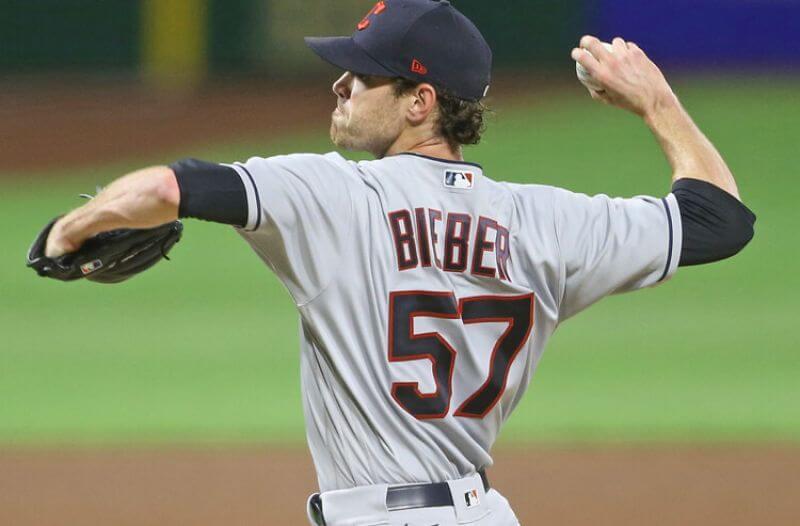 Shane Bieber MLB Cleveland Indians