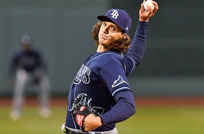 Tyler Glasnow Tampa Bay Rays MLB