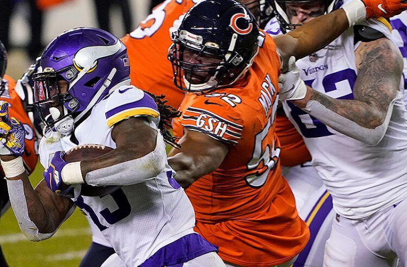 NFL Week 15 Odds: Vikings Visit Soldier Field on MNF
