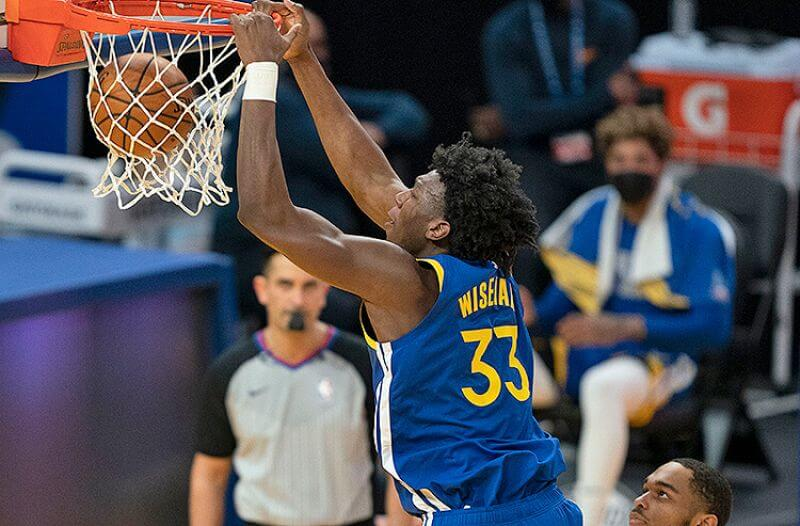 James Wiseman Golden State Warriors NBA