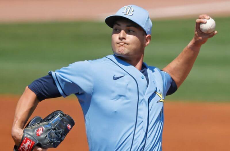 Shane McClanahan MLB Tampa Bay Rays