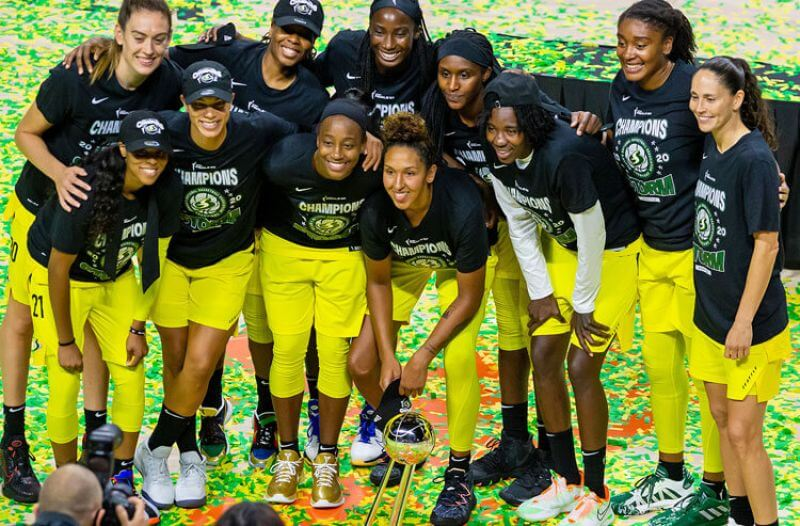 Odds to win the 2021 WNBA Championship: Storm remain No. 1