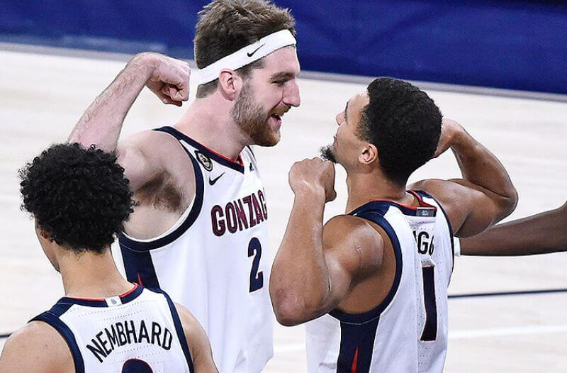 March Madness title odds: Gonzaga Remains Betting Favorite
