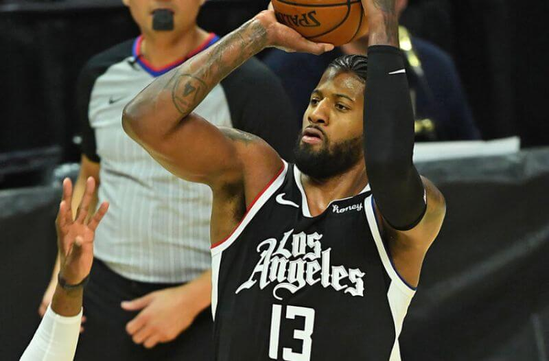 Paul George NBA Los Angeles Clippers