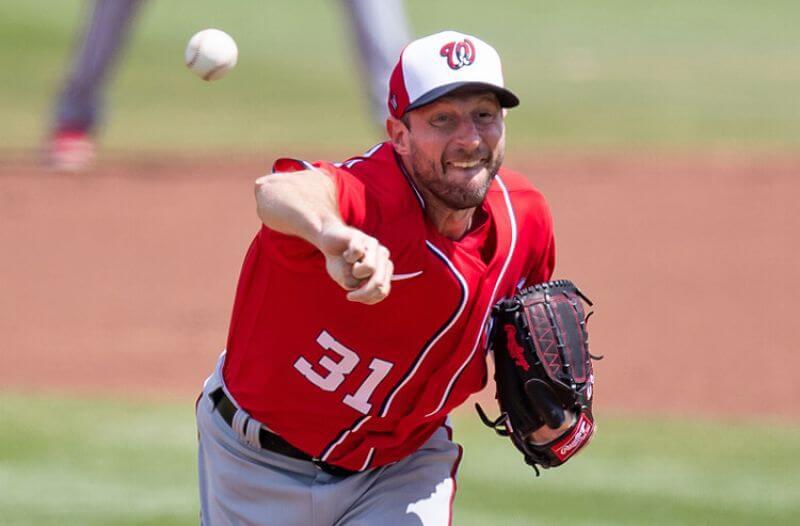 Max Scherzer MLB Washington Nationals