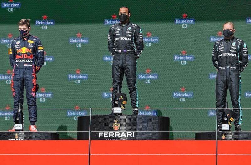Lewis Hamilton Max Verstappen Valtteri Bottas Formula 1