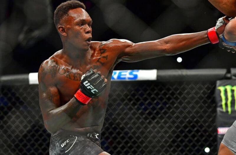 Israel Adesanya UFC Middleweight Light Heavyweight
