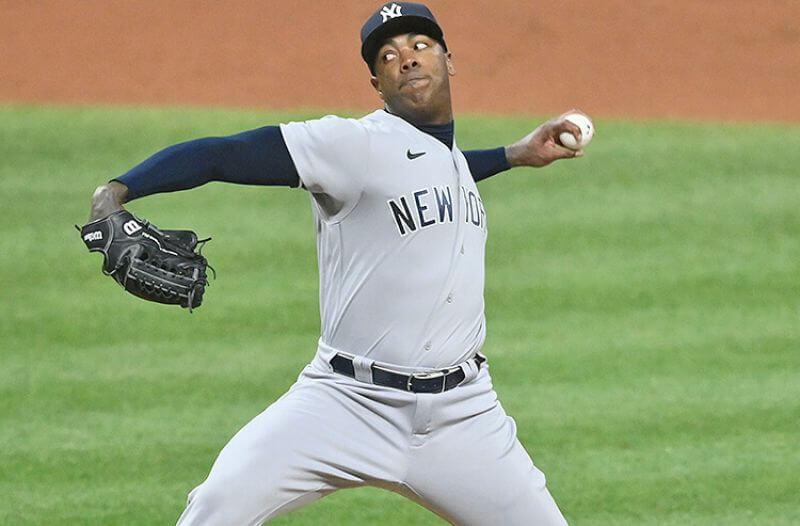 Aroldis Chapman New York Yankees MLB