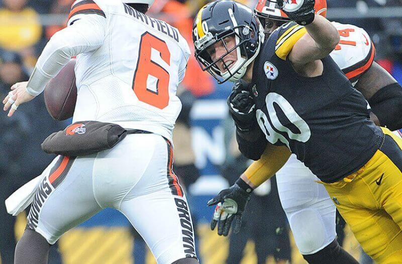 Pittsburgh Steelers T.J. Watt NFL