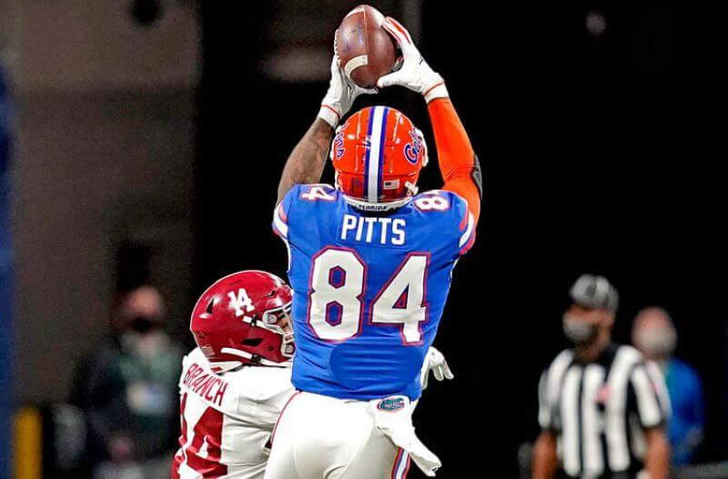NFL Draft odds 2021: Pitts the First Non-QB Off the Board?