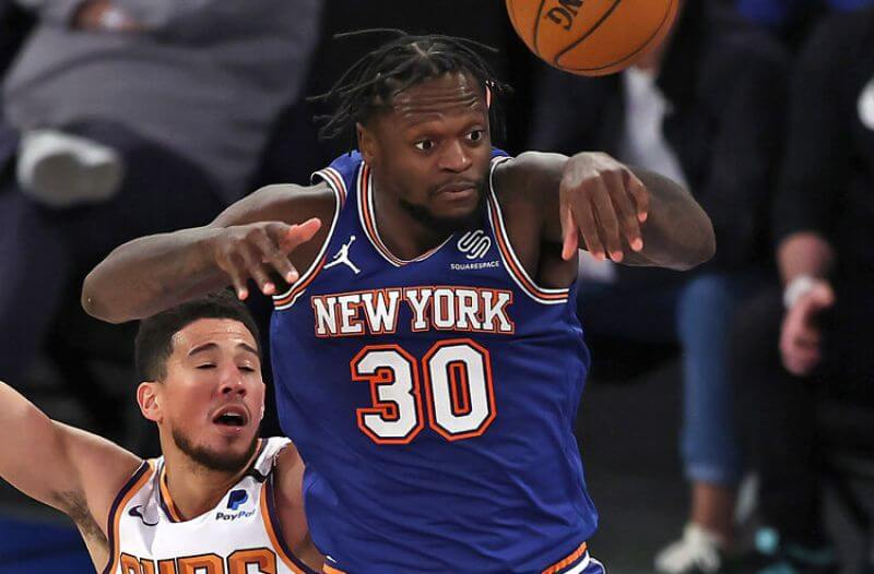 Julius Randle NBA New York Knicks