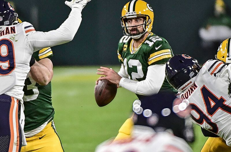 Green Bay Packers Aaron Rodgers NFL