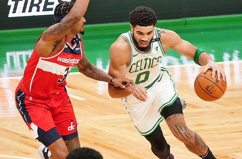 Jayson Tatum Boston Celtics Bradley Beal Washington Wizards NBA