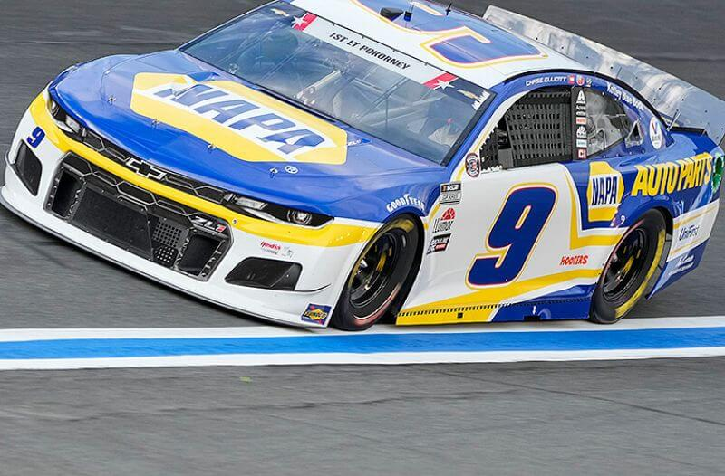 Toyota Save Mart 350 Odds: Elliott, Truex, Larson Top Odds Board
