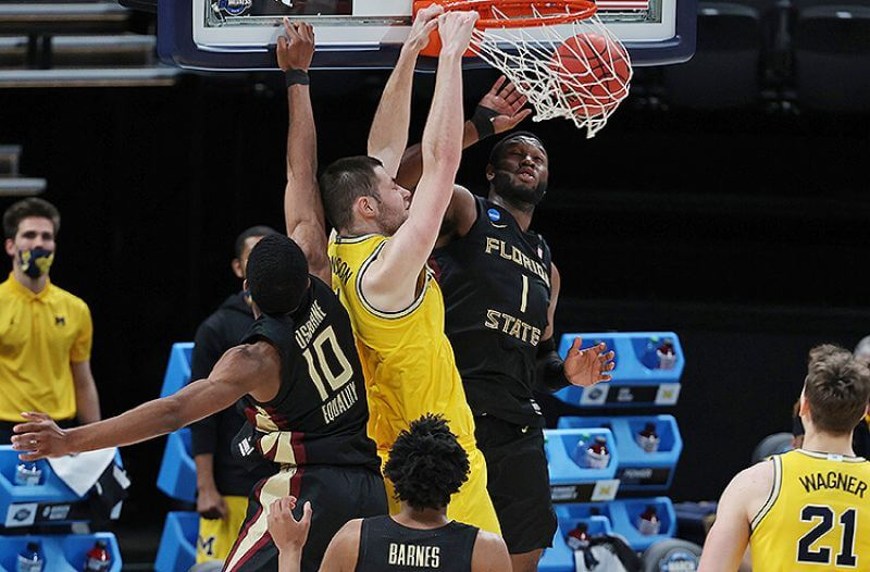 How To Bet - UCLA vs Michigan Elite Eight Picks: Wolverines Height Too Much for UCLA