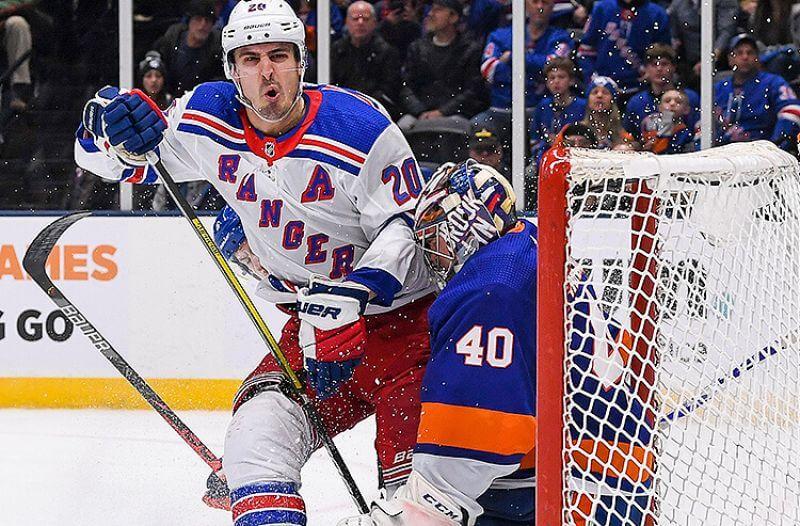 New York Rangers Chris Kreider NHL