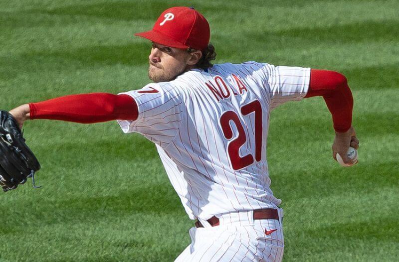 Aaron Nola MLB Philadelphia Phillies