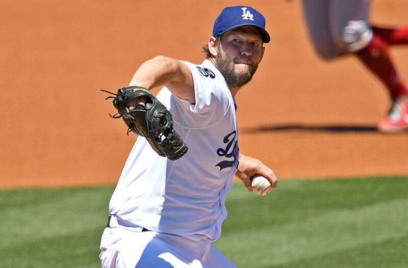 Clayton Kershaw Los Angeles Dodgers MLB