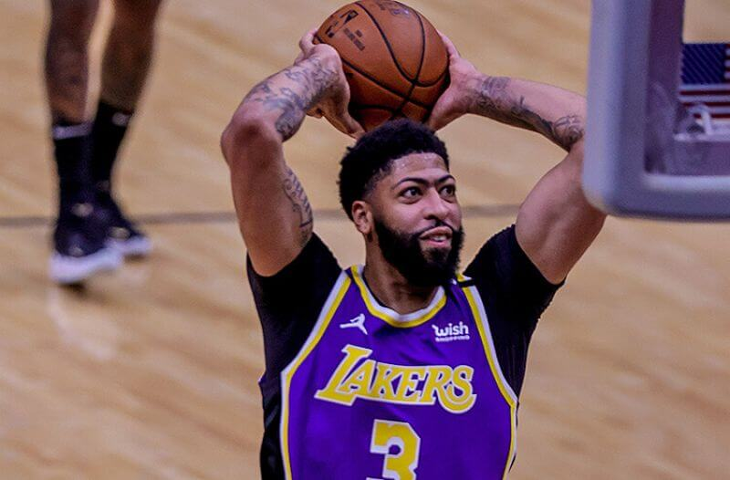 Anthony Davis Los Angeles Lakers NBA