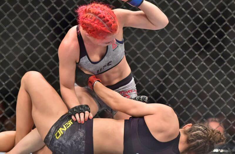 Mayra Bueno Silva UFC