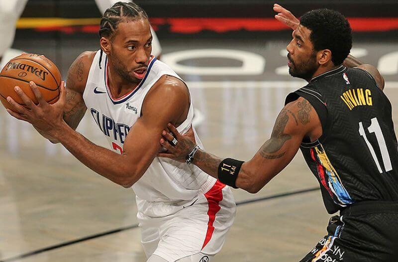 Kawhi Leonard Los Angeles Clippers Kyrie Irving Brooklyn Nets NBA