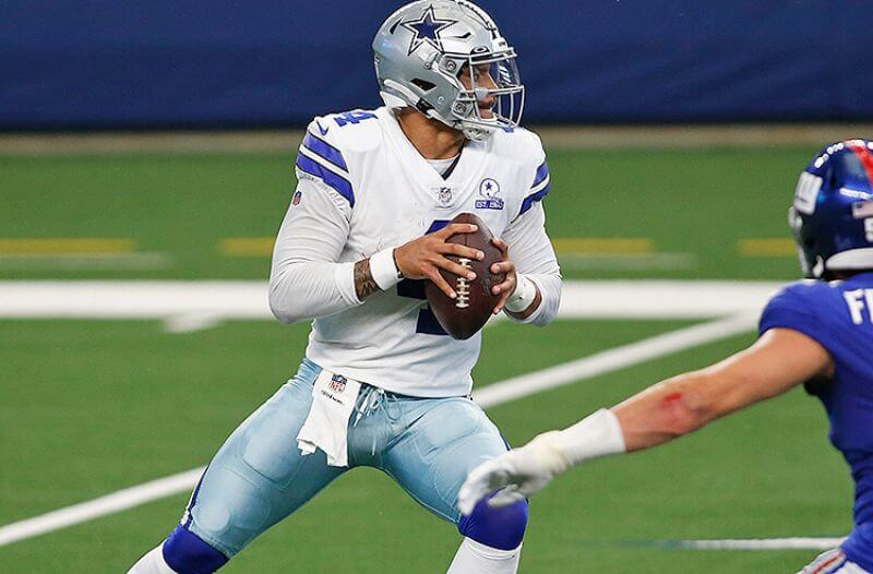 NFL Comeback Player of the Year Odds: Dak Early Favorite