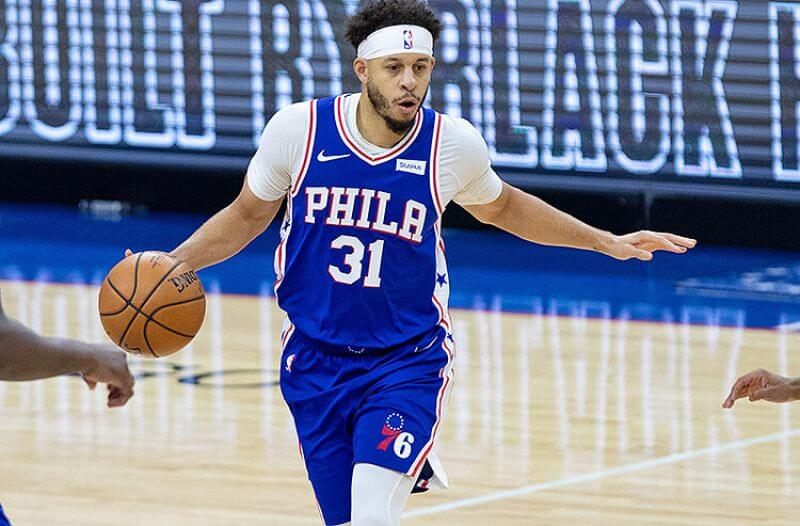 Seth Curry Philadelphia 76ers NBA
