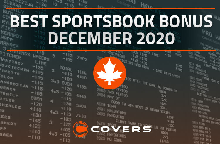Best Sportsbook Bonus in Canada for December 2020