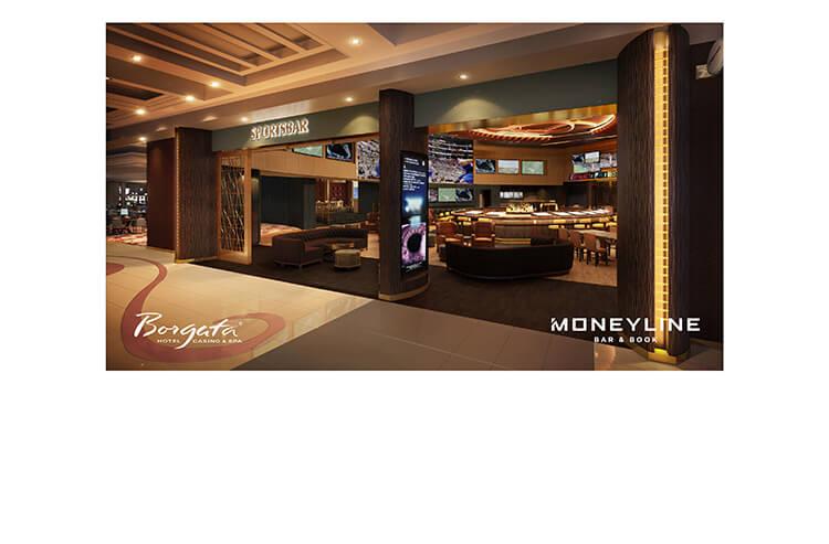 Rendering of the Moneyline Bar & Book at Borgata Atlantic City