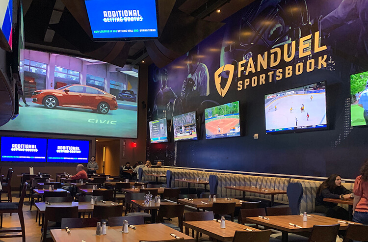 What time is sports betting meadowlands spread betting football tips