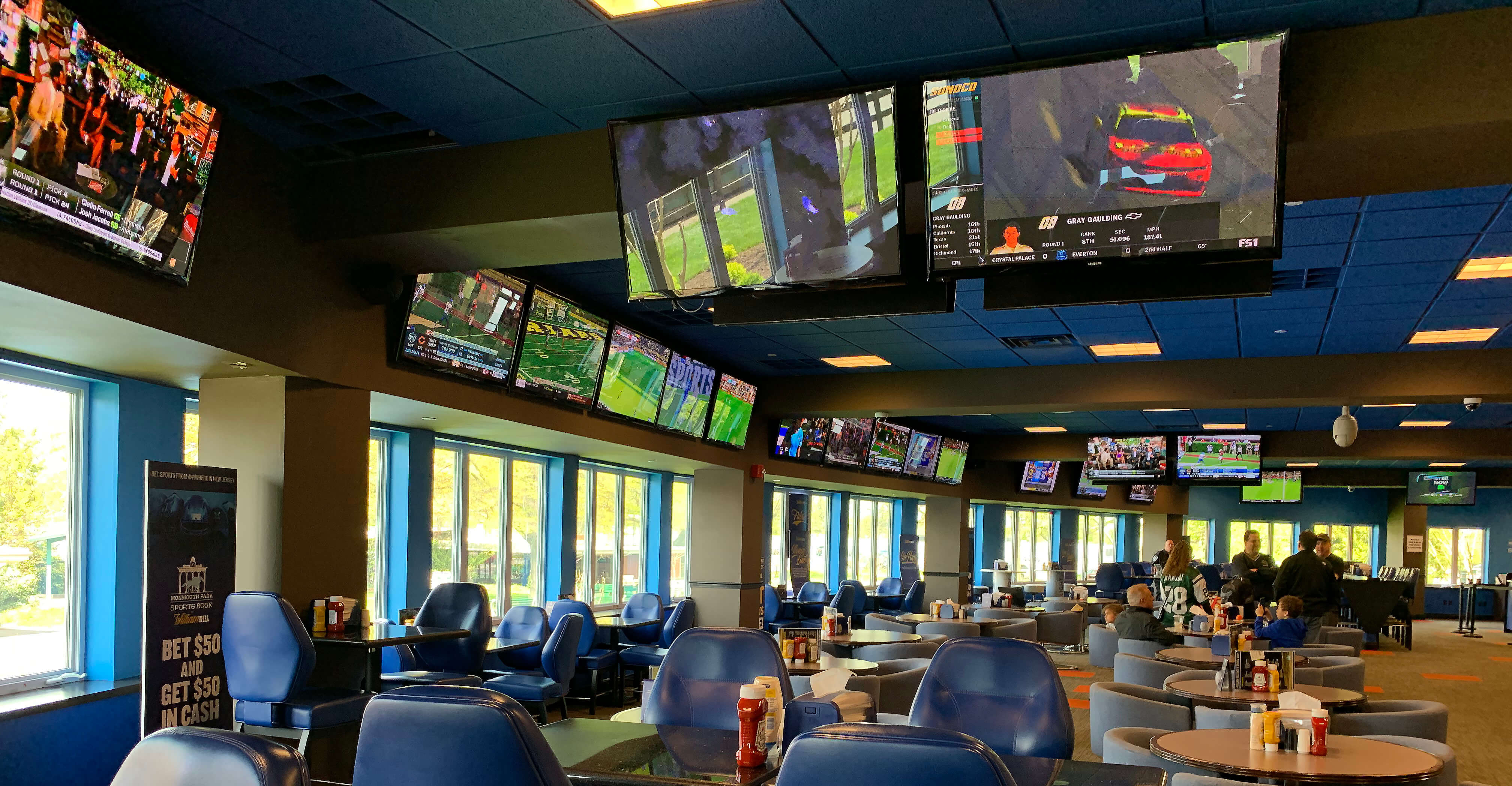 Monmouth race track sports betting update u s presidential betting odds