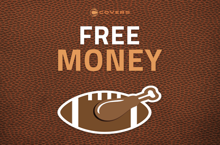 Legal online sportsbook in the US are giving away free money on Thanksgiving/Black Friday/Cyber Monday weekend.