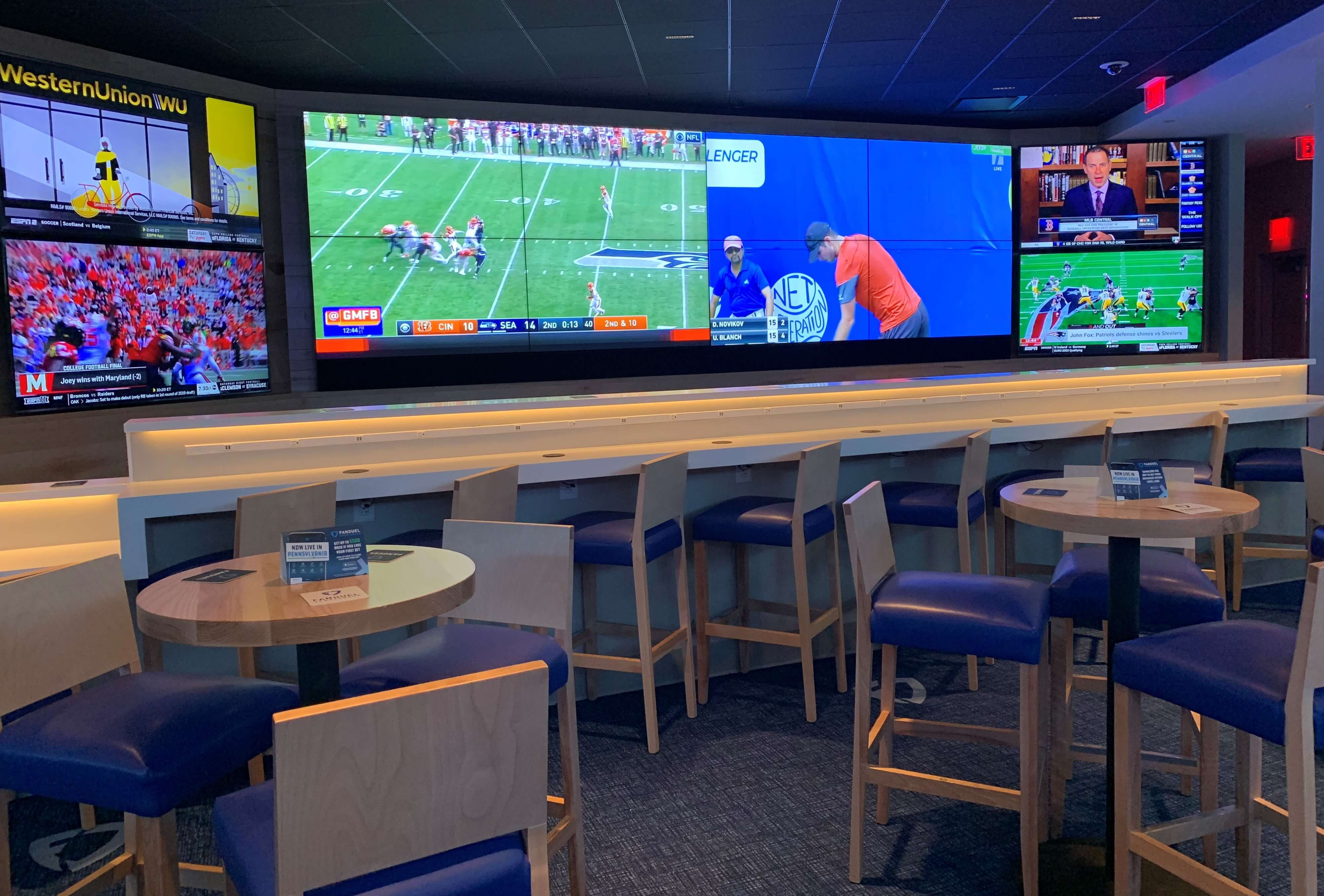 sports betting valley forge casino