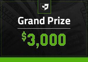 $3,000 Cash