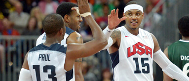 USA basketball set as 34.5-point fave versus Lithuania