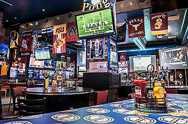 The Best Sports Bars In Las Vegas To Eat, Drink And Watch Football