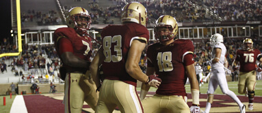 College football line watch: Jump on BC +14 now