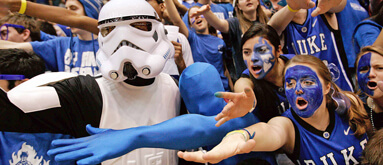 Tar Heels bettors right at home in Cameron Indoor