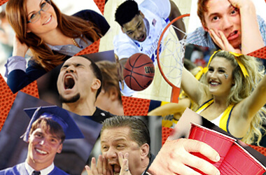 Four college flashbacks brought on by your March Madness bracket