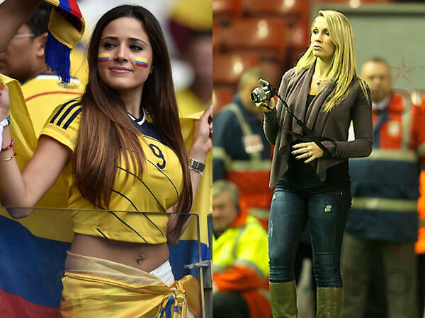 Colombia Vs Uruguay: World Cup Sexiest Fans: Round Of 16 Odds
