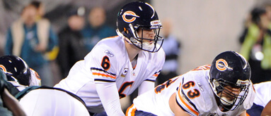 Bears' Jay Cutler calls out his own offensive line