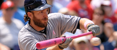 Does pink-stitched ball give advantage to MLB hitters?