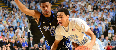 Duke-UNC draws three times more action than most NCAAB games