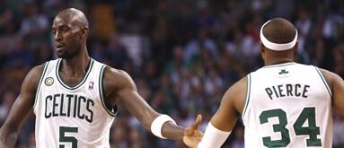 Nets' NBA title odds jump with Garnett, Pierce deal pending