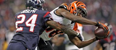 Betting NFL player-versus-player receiving props
