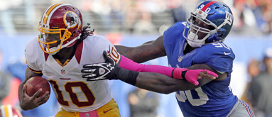 Giants or Redskins? Bloggers debate who will cover